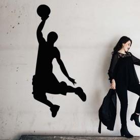Vinilo jugador baloncesto