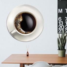 Vinilo café espumoso