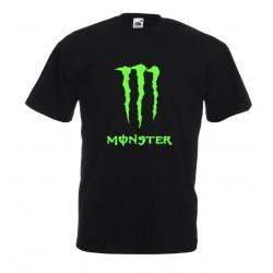 Camiseta texto Monster neón EDICIÓN LIMITADA