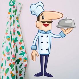 Vinilo cocinero