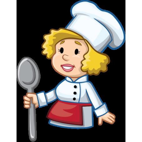 Resultado de imagen de cocinera