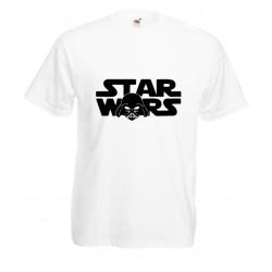 Camiseta logo Star Wars cara Vader