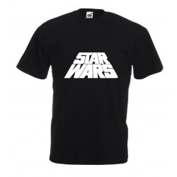 Camiseta logo Star Wars 3d
