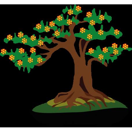 Vinilo árbol bonsái