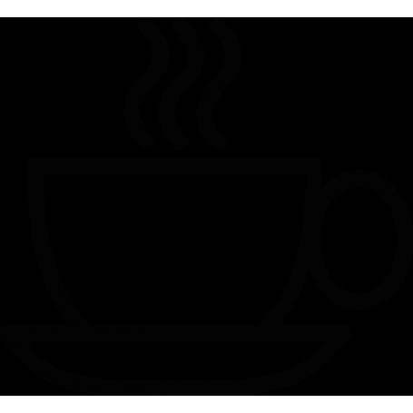 Vinilo pared taza de té