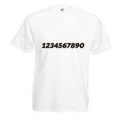 Camiseta dorsal personalizado