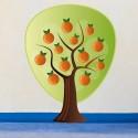 Vinilo decorativo naranjo
