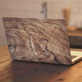 Vinilo portátil nudo madera