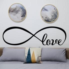 Vinilo cabecero amor infinito