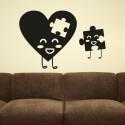 Vinilo puzzles amorosos