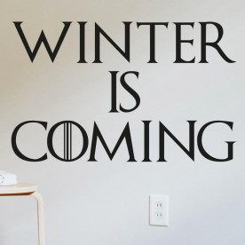 Vinilo Winter Is Coming Juego de Tronos