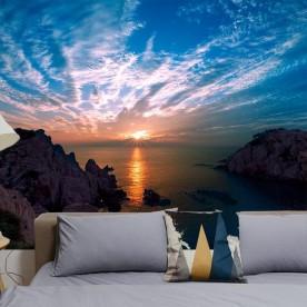 Vinilo fotomural puesta de sol Ulsan