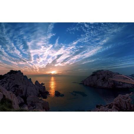 Vinilo puesta de sol en Ulsan
