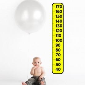 Vinilo infantil medidor de altura