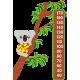Vinilo medidor koala
