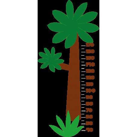 Vinilo árbol medidor