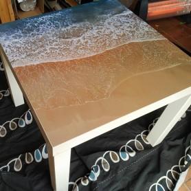 Laminado rugoso para mesa LACK de IKEA