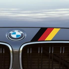 Pegatina bandera alemana coche