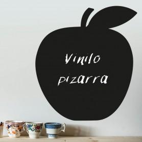 Vinilo pizarra manzana