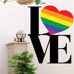 Vinilo LOVE LGBTI