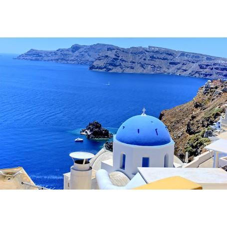 Vinilo cúpula Grecia