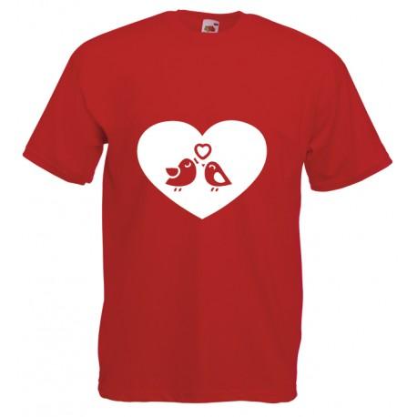 Camiseta amor pajaritos