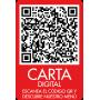 Vinilo QR carta digital para restaurantes y bares