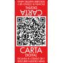 Vinilo carta digital con código QR bar restaurante doble