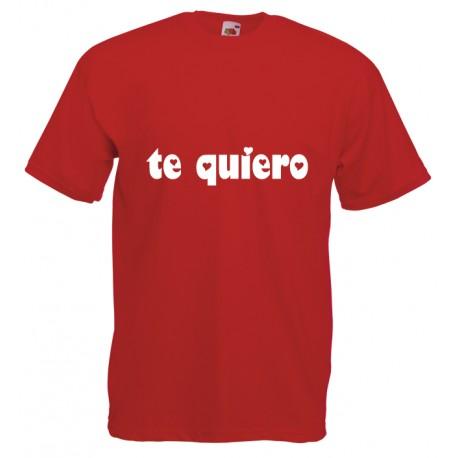 Camiseta te quiero