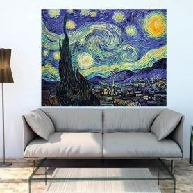 Vinilo noche estrellada Van Gogh