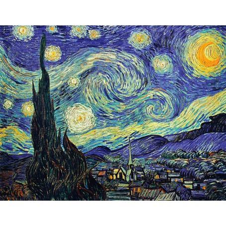 vinilo Van Gogh cuadro noche estrellada