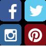 Vinilo sticker redes sociales