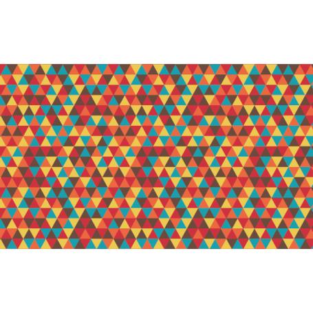 Alfombra de vinilo pvc geométrica