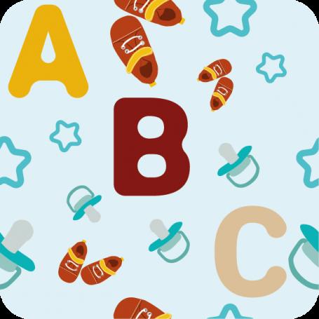 Alfombra infantil ABC de PVC