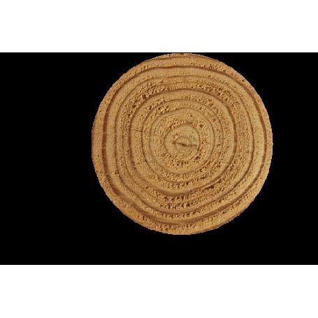 Alfombra de vinilo nudo madera árbol