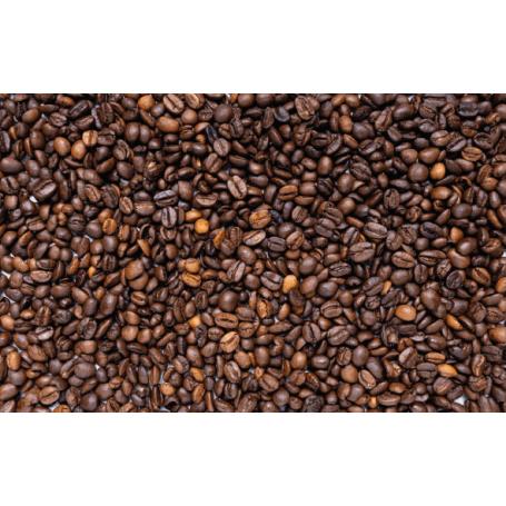 Alfombra de vinilo motivos café