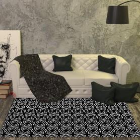 Alfombra vinilo azulejos abstractos