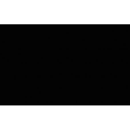 Alfombra de vinilo azulejos abstractos negros
