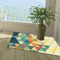 Alfombra PVC triángulos
