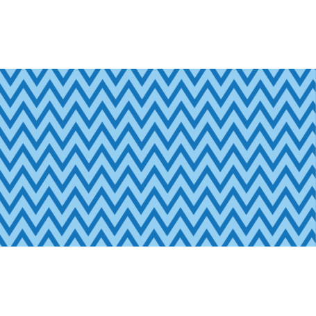 Alfombra de vinilo ondas azules y blancos