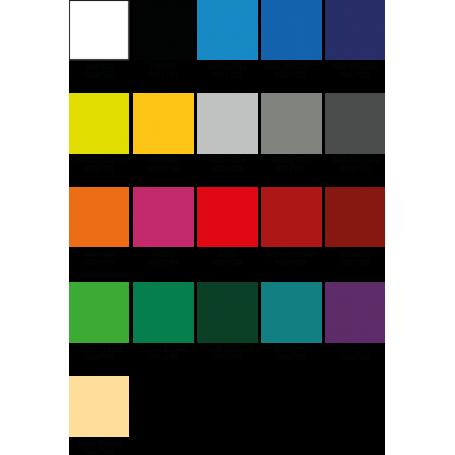 Alfombra de vinilo lisa colores sin dibujos