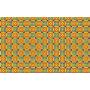 Alfombra de vinilo cenefa amarilla