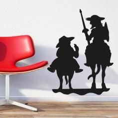 Pegatina Don Quijote