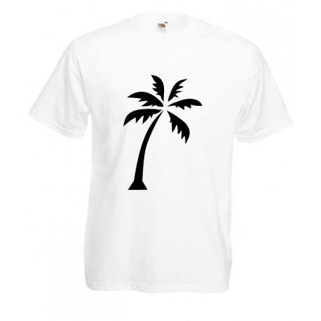 Camiseta estampada palmera