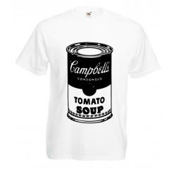 Camiseta lata Campbell's