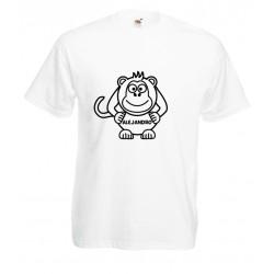 Camiseta mono nombre personalizable