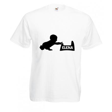 Camiseta bebé nombre personalizado