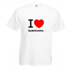 Camiseta i love Barcelona