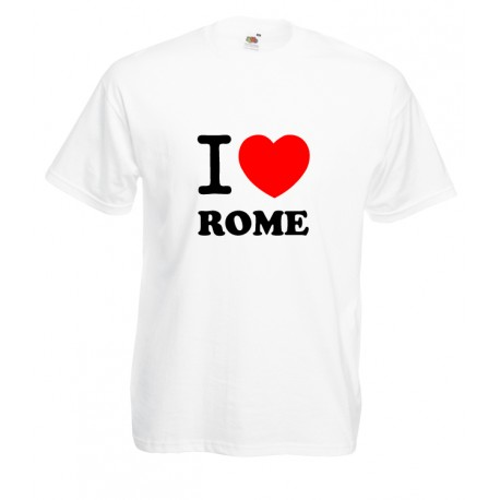 Camiseta i love Roma