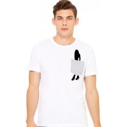 Camiseta chica tacones